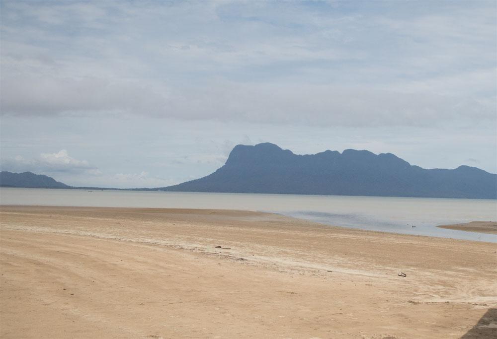 Bako coastline
