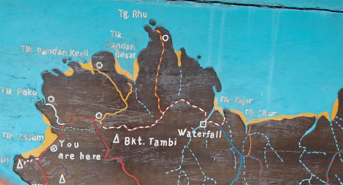 Bako map