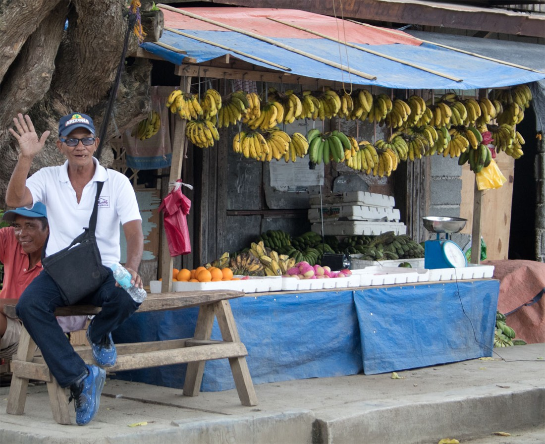 Banana seller Samal