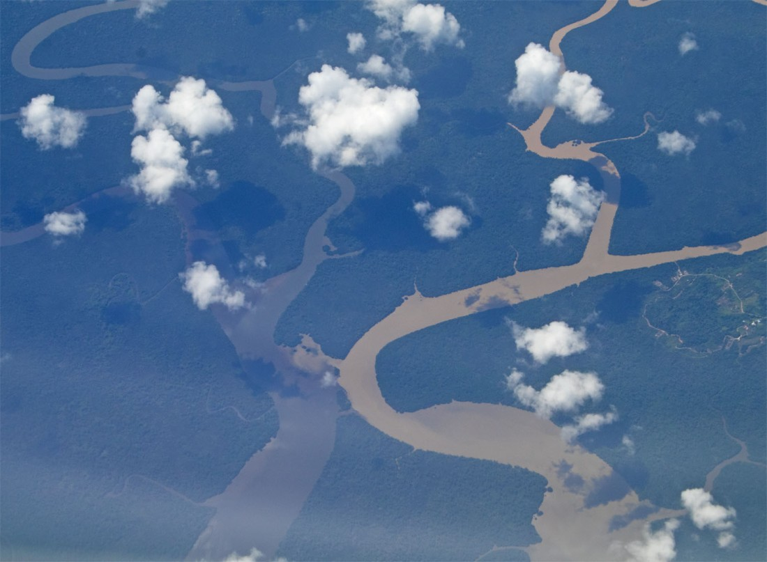Borneo rivers
