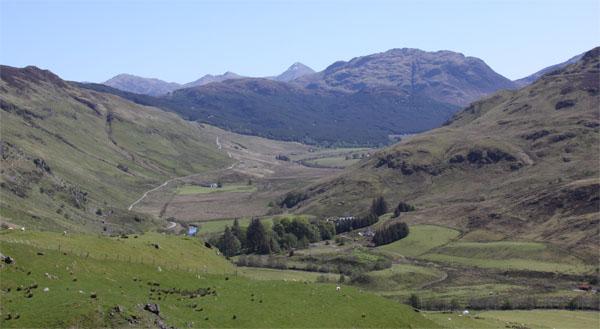Ex-glacier valley