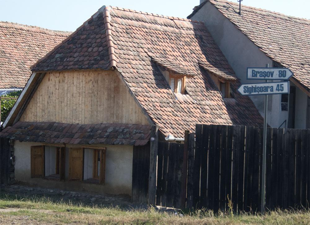 Signpost to Brasov
