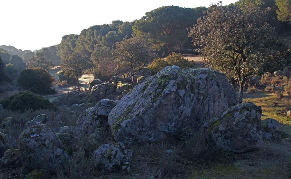 Boulders Sierra de Andujar