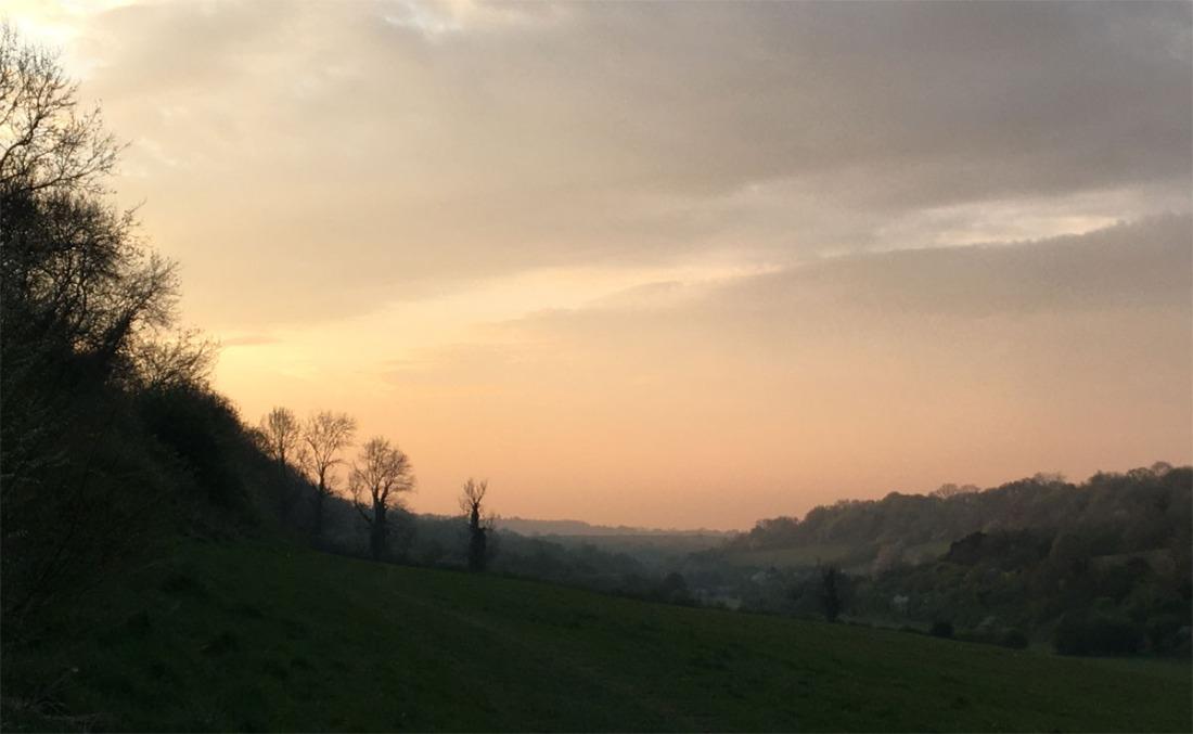 Sunset 16 Apr 20
