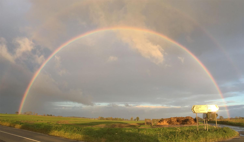 Acle rainbow